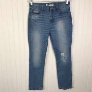 OLD NAVY Girls Straight Ankle Jeans 16 Plus